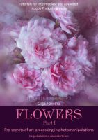Tutorial  FLOWERS - Part I by Helga-Helleborus