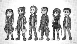 Pentatonix - PTXcomic - Radioactive by Raelys-Fenrika