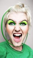 Green scream by Basistka