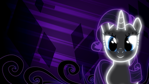 Rarity Wallpaper by AllicornUK