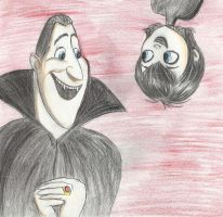 Dracula and Mavis by LittleZing