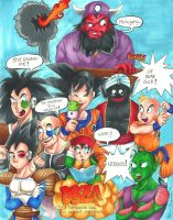 DBZ Abridged Poster by kirapop