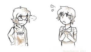 How do you say: coffee AU? by Chibi--of-doom