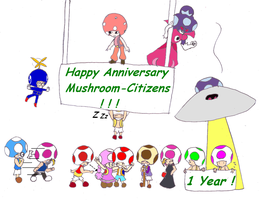 Toad Group 1st Anniversary by Mloun