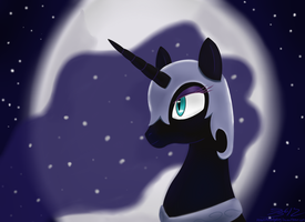 Nightmare Moon by MikorutheHedgehog