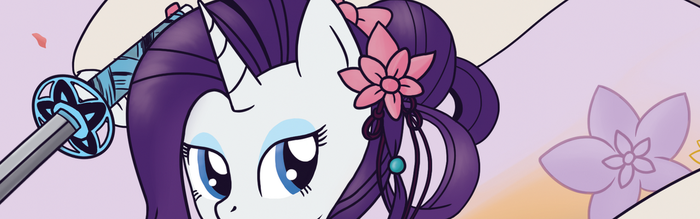 2017 Patreon Print 05 - Rarity by CrescentScript