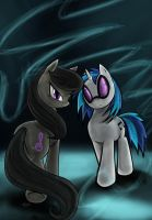 Octavia and DJpon3 Cover by TheDracoJayProduct