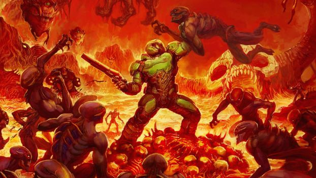 Doom by vgwallpapers