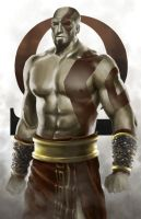 Kratos by lordbaells