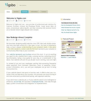 Vigsbo Web Solutions by toughshot