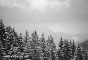 winter mountains by a-b-n