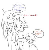 Sorry girls, but Simon is property of Marcy. by Snowflake-owl