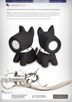 RomelHowe Flyer - Dog Speakers by vijay-dffrnt