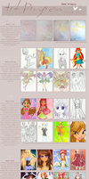 Art Progress 2008-2012 by crinuyi