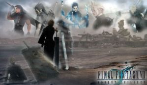 Final Fantasy VII by Ninjadark21
