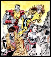 X_Men Colored by Daequitas