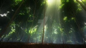 Rays in the woods by Andywong75