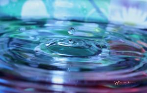 droplet study floating by Youmitori
