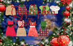 Ropa navide/a para dolls by MikaStoessel