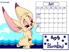 April is Houdini 604 by LilShock