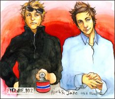 Heath and Jake-Both by Figure102