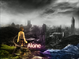 Alone For Ever by AboYehia-Art