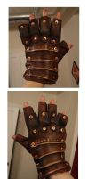mens steampunk gloves by missmonster