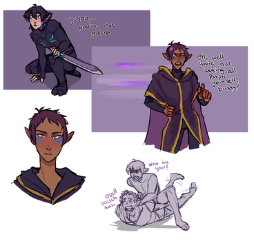 Druid Lance + Marmoran Keith by iWillBite