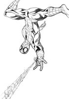Spidey sketch 2011 by thelearningcurv