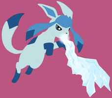 glaceon ice attack by cyntia2963