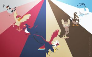 Pokemon Spectrum - Flying by EYEofXANA