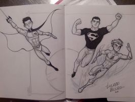 NYCC Commissions - Teen Titans by LucianoVecchio