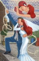 Peter Parker and Mary Jane by Yamigirl21