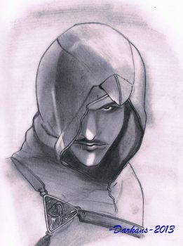 Altair Ibn La Ahad by AnsDraw