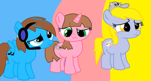 SpeedAtrsofPPG,megan and me by PuffedBluerose