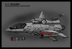 bulldog attack craft by Andared
