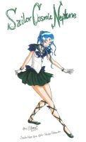 Sailor Cosmic Neptune :New: by GorgeousPixie