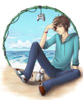 James by the Sea by angelnablackrobe