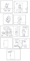 BSC comics: Hole in the wall by oshawott17