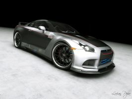 Nissan GTR Tuned 3 by LucianP