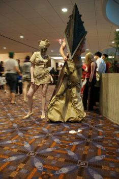 Silent Hill cosplay Acen 2009 by Doom-In-A-SKORT
