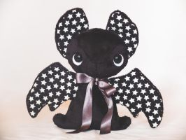 Starry Batty - Halloween Teacup Bat Plush For Sale by tiny-tea-party