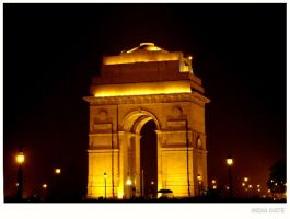 INDIA GATE by night-rider