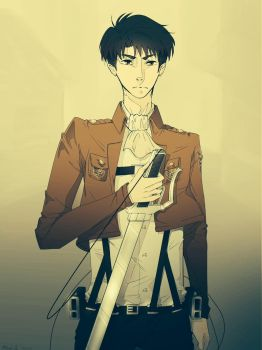 Levi by Pockyraptor2