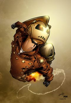 The Rocketeer color v2 by macuy19