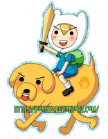Keychain- Adventure Time by Yuuhiko