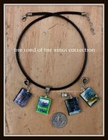 The Lord of the Rings Necklace by maryfaithpeace