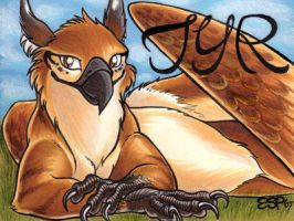 Tyreenya badge by ScullyRaptor