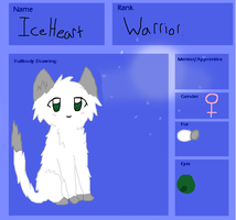 IceHeart Ref by NicoleFrost