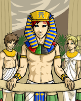 Pharaoh of the Sand by m3ru